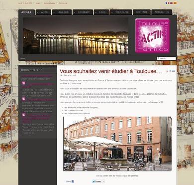 Association AcTIF : accueil d'étudiants étrangers en famille à Toulouse