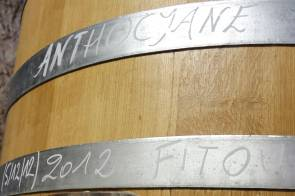 Cuve d'Anthocyane vin rouge du Mas des Caprices. Campagne photographique réalisé par Serge Briez en 2013 pour Cap Médiations
