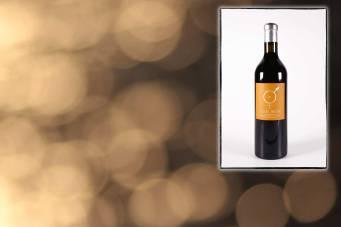 Infographie pour la page de présentation du vin rouge Confusion du Mas des Caprices, par Serge Briez pour Cap Médiations 2012