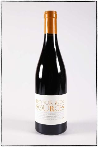 Retour au source, vin rouge bio du Mas des caprices, Photographie Serge Briez pour Cap Médiations 2012