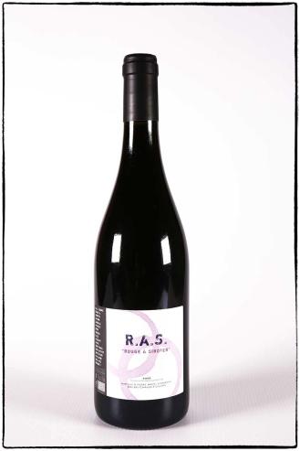 RAS rouge à siroter, vin rouge bio du mas des caprices, Photographie Serge Briez pour Cap Médiations 2012
