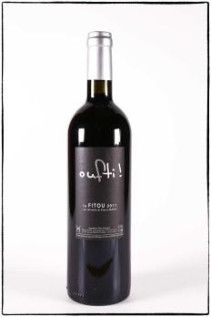 Oufi, vin rouge bio, appellation contrôlée Fitou du mas des caprices, Photo Serge Briez 2012