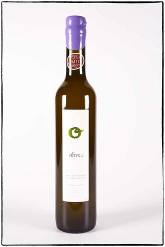 Photographie des bouteilles d'huile d'olive du Mas des Caprices par Serge Briez pour Cap Médiations