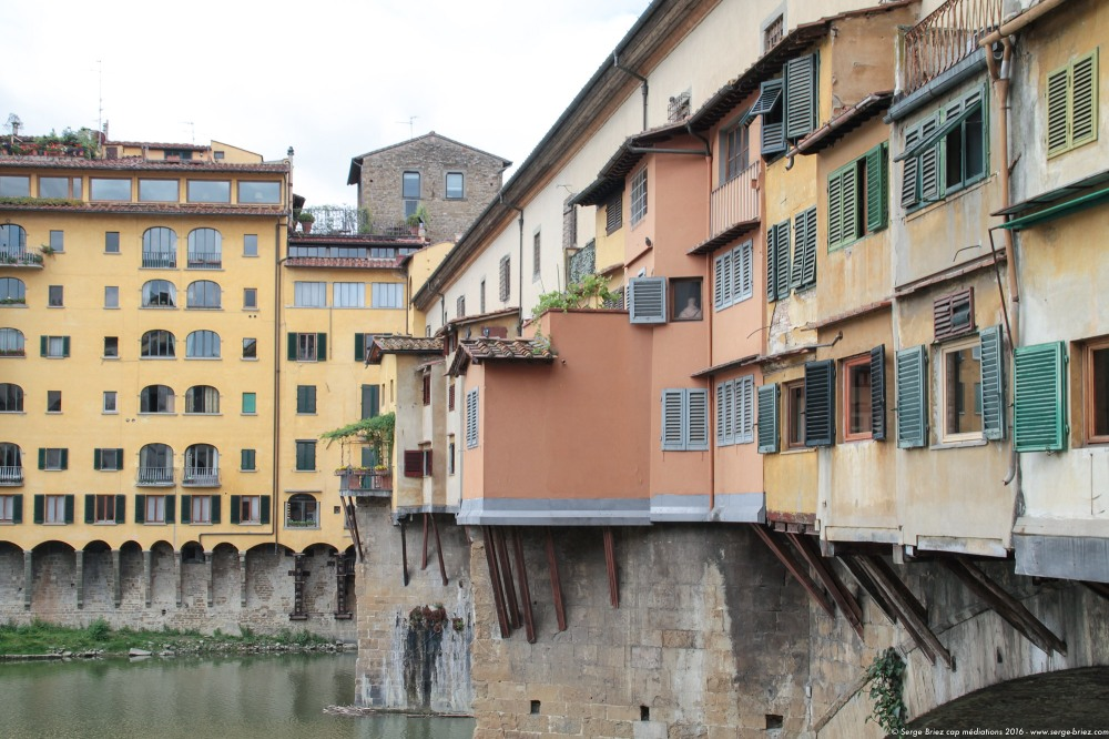 Le PONTE VECCHIO à FLORENCE, photo Serge Briez®
