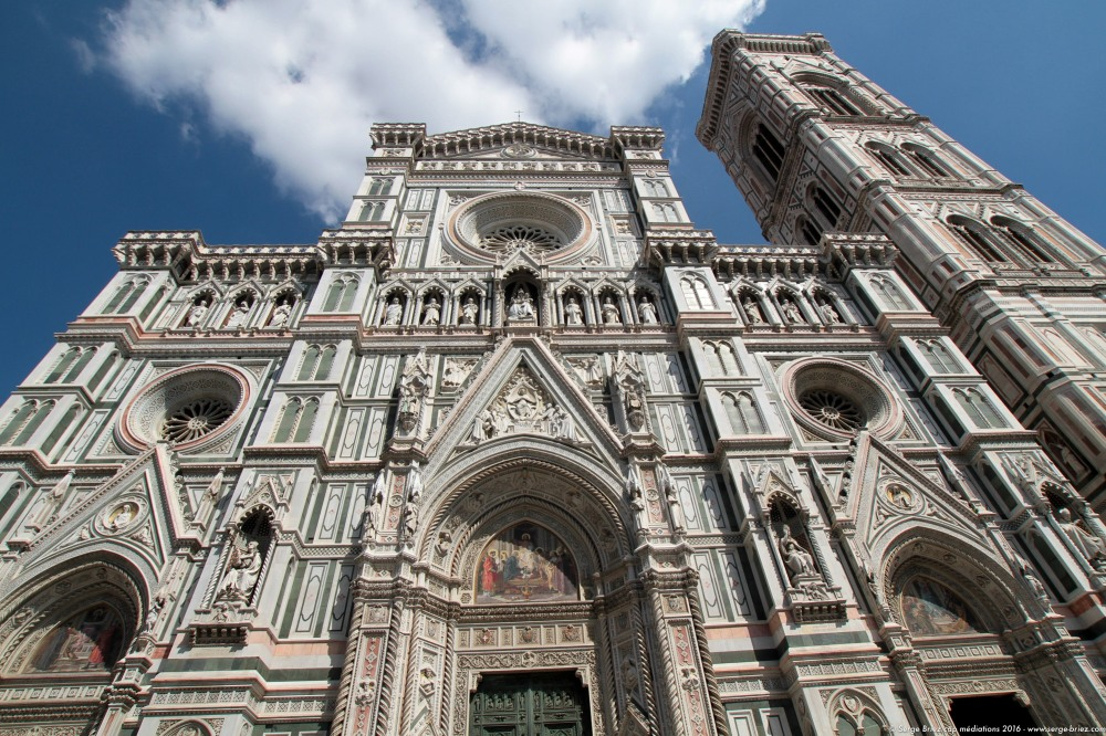LE DUOMO, cathédrale de FLORENCE, photo Serge Briez®