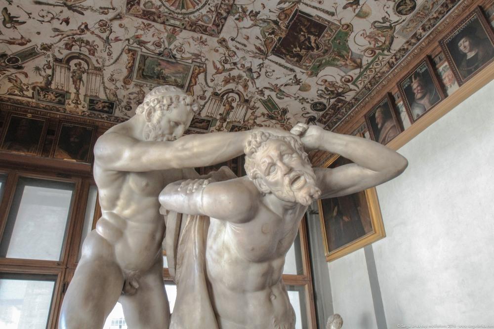 Galerie des Offices à Florence, photo Serge Briez®