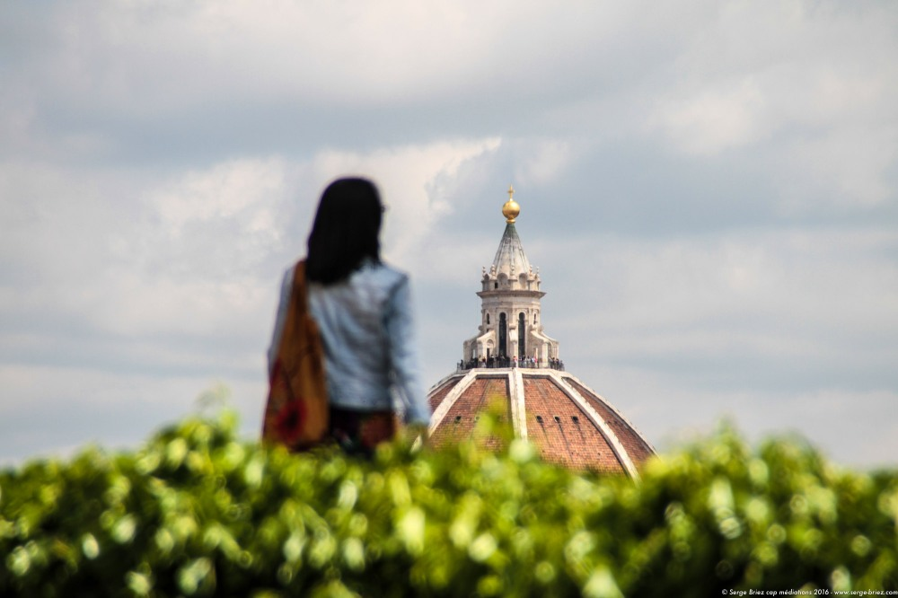 LE DOME DU DUOMO, cathédrale de FLORENCE, photo Serge Briez®