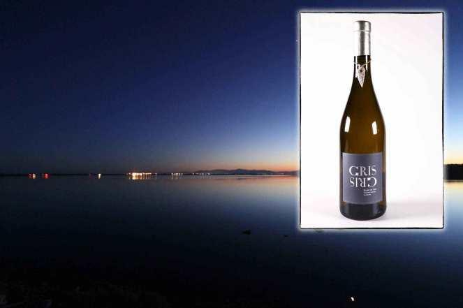 Infographie pour la page de présentation du Gris Gris, vin blanc du Mas des Caprices, par Serge Briez pour Cap Médiations 2012