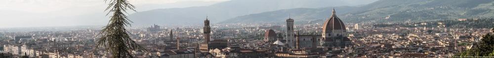 Panoramique de FLORENCE, photo Serge Briez®