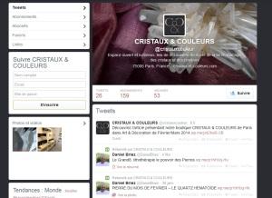 Retrouvez cristaux et couleurs sur twitter