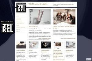 Page d'accueil du site de la bijouterie Telkel