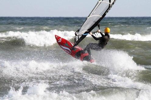 Plage des pilotis leucate kite en hivers, photos d'illustration de Serge Briez pour le e-narwhal by Seareka, VHF de sécurité pour les sports nautiques