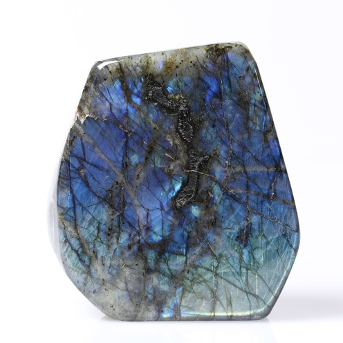 Labradorite, Photo Serge Briez, copyright Cap médiations 2015