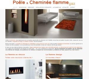 Page d'actualités et de présentation de la filière des poêles et cheminées gaz en région Méditerranée