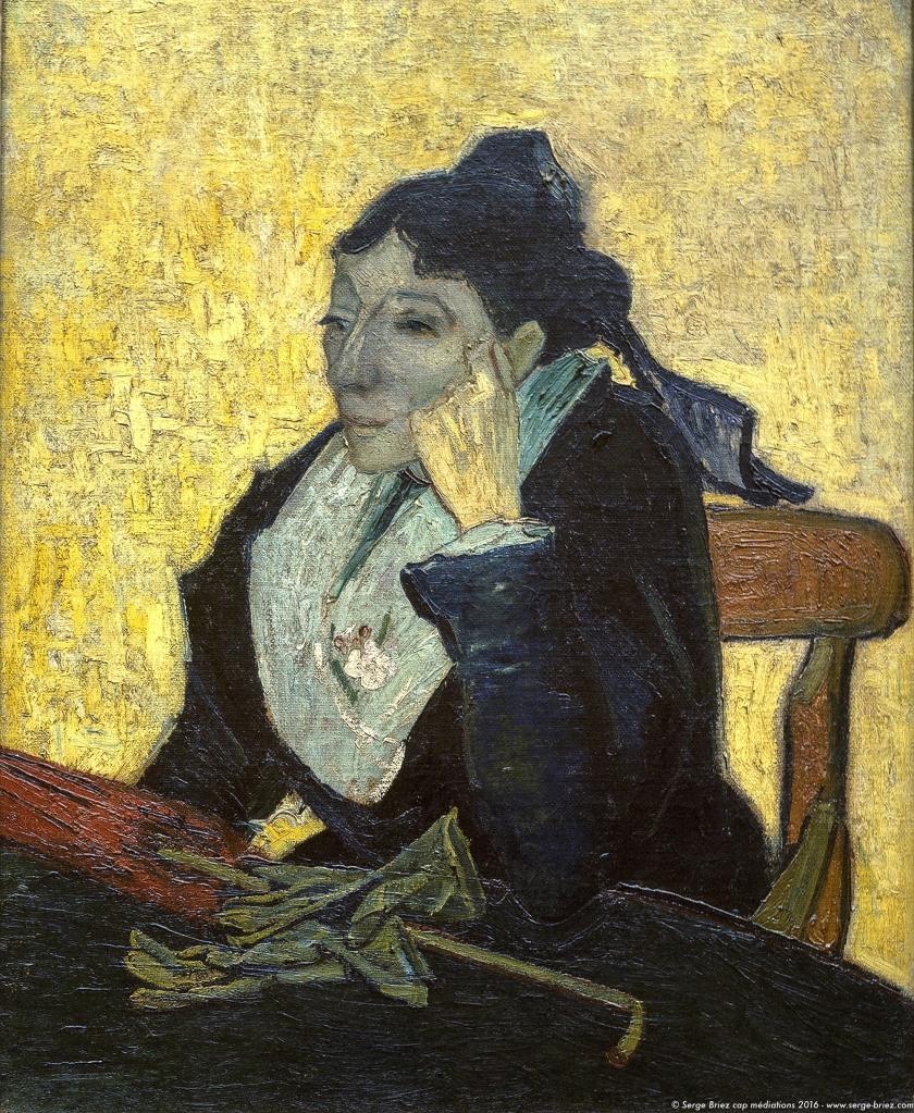 Vincent van Gogh, l'Arlésienne, photo Serge Briez®